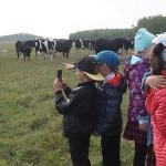 Дети на ферме с. Черное, экскурсия 13.09.19